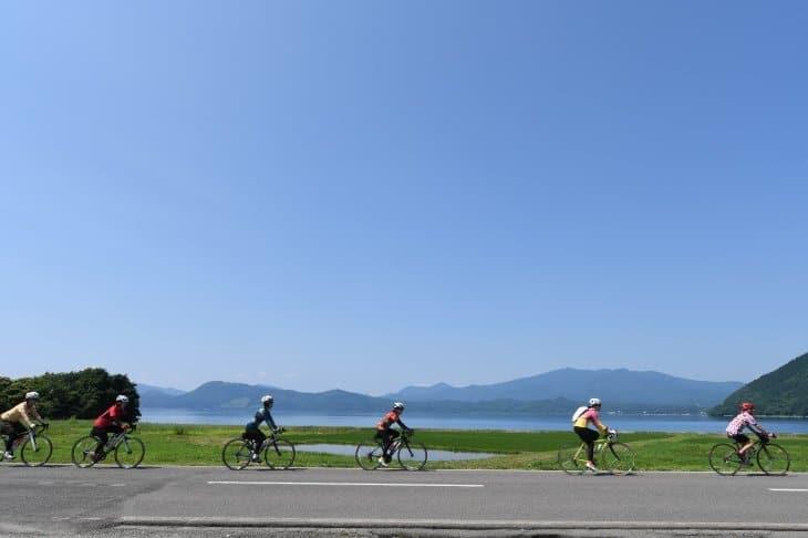 田沢湖自転車
